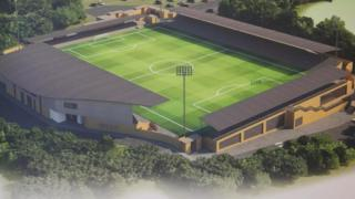 Plans for Basingstoke Town's new ground