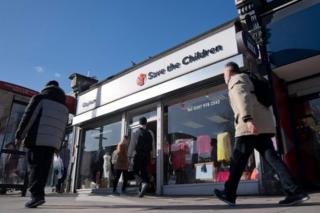 Save the Children shop