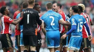 'yan wasan Sunderland da Bournemouth
