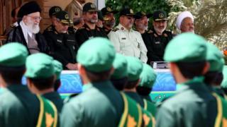 دیدار رهبر ایران با فرماندهان سپاه