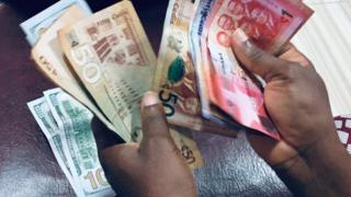Ghana cedi 'tear chain' catch Ghc5.16 against US Dollar