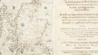 Oldest Scottish sea map