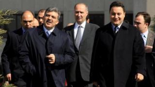 Abdullah Gül ve Ali Babacan