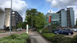 Ipswich Borough Council and Suffolk County Council offices