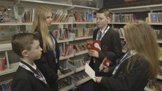 Pupils from Sutton Community Academy