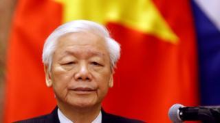 Nguyen Phu Trongen 2018