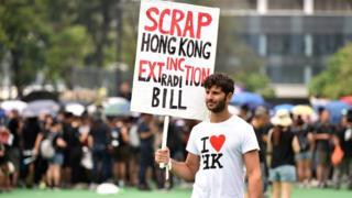 हाँगकाँगमध्ये सरकारविरोधी निदर्शने