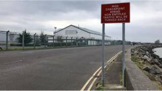Northern Ireland Kinnegar Logistics Base