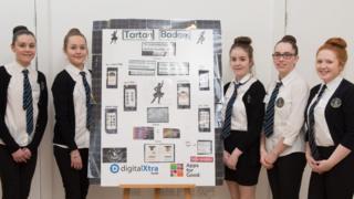 School pupils at DigitalXtra workshop