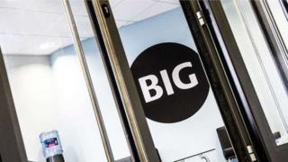 Big Partnership office door