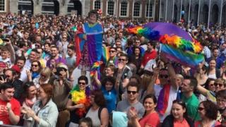 Same-sex marriage is now legal in the Republic of Ireland