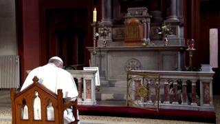 Pope prayer