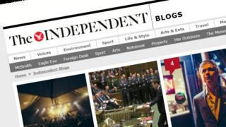 The Independent blog