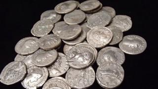 Overton Hoard - 37 silver Roman coins