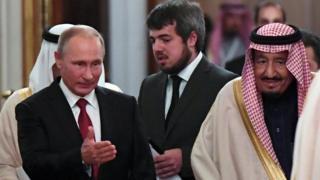 ملك السعودية والرئيس الروسي