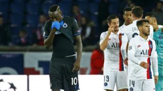 Senegal and Club Bruges striker Mbaye Diagne