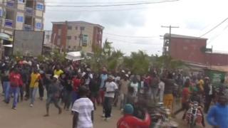 La tension reste perceptible à Kumbo, deuxième grande ville de cette région située à environ 80 km de Bamenda.