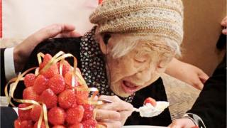 Kane Tanaka, âgée de 116 ans, doyenne de l'humanité