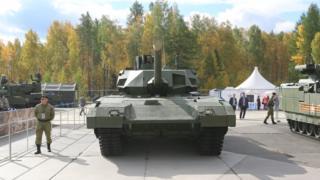 Т-14 на выставке в Нижнем Тагиле