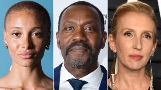 Adwoa Aboah, Sir Lenny Henry and Sam Taylor-Johnson