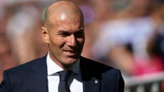 L'entraîneur du Real Madrid, Zinédine Zidane