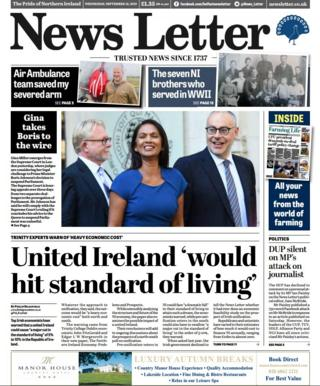 Paper Review: Doing the sums for a United Ireland
