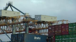 Northern Ireland Belfast Port