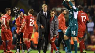 Klopp's Liverpool held to a draw