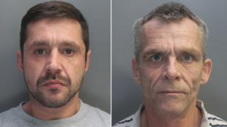 Lee Roberts and Anthony Munkley, known as Charlie