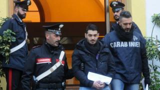 Арест члена мафиозной группировки в декабре 2017 года