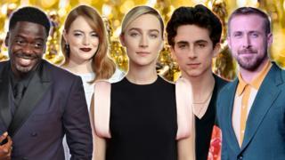 Daniel Kaluuya, Emma Stone, Saoirse Ronan, Timothee Chalamet, Ryan Gosling