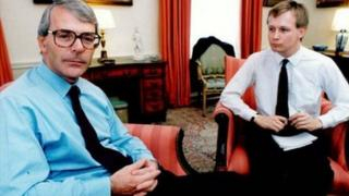 John Major and David Cornock