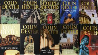 The front covers of Morse books