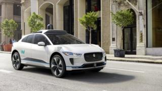 Self-drive Jaguar