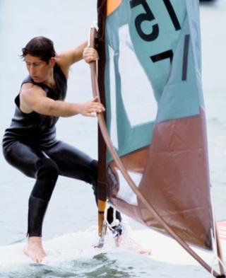 Prince of Wales surf-sailing