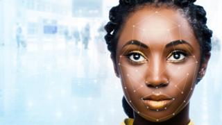 Rosto de mulher negra