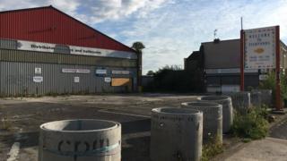 Tile warehouse photo