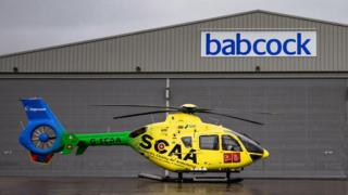 Scotland's Charity Air Ambulance helicopter
