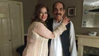 Noshina and Khurshid Ahmed
