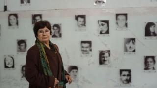 Sara Mendez in Orletti centre
