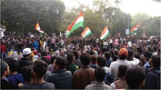 Protest against the Citizenship Amendment Act