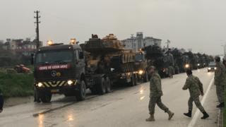 مقاتلات تركية في إقليم هاتاي الحدودي
