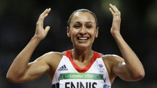 Jessica Ennis-Hill at London Olympics