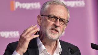 Jeremy Corbyn at Progress conference
