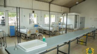 Isolation Centre for Ghana