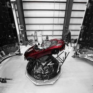 Elon Musk's roadster
