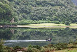 Tranquil scene from Ardaneaskan, near Lochcarron