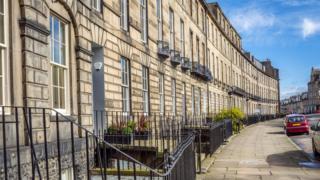 Terrace in Edinburgh