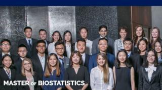 Imagen de la página web de la universidad para el curso de maestría en Bioestadística.