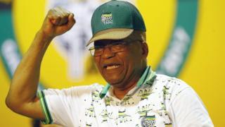 Jacob Zuma, madaxweynaha Koonfur Afrika